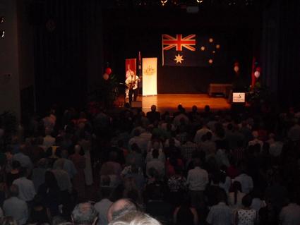 Australia Day Awards 2013