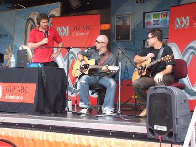 ABC612 radio live from The Ekka